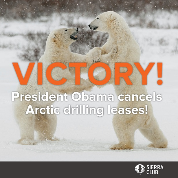 Victory: President Obama cancels Arctic leases!