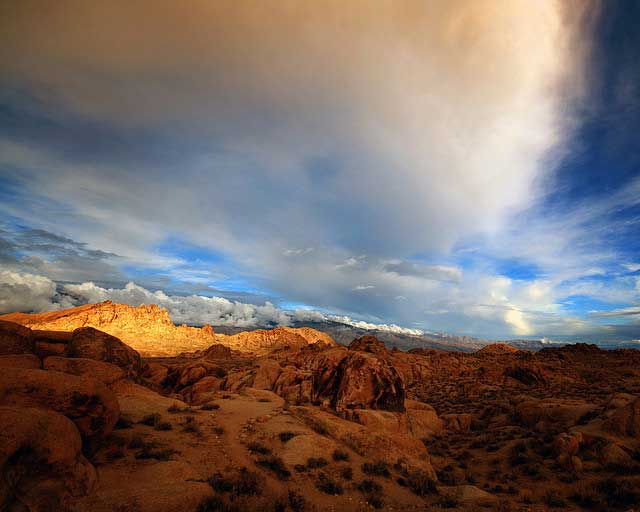 -- Alabama                                                       Hills, Lone Pine,                                                       California --