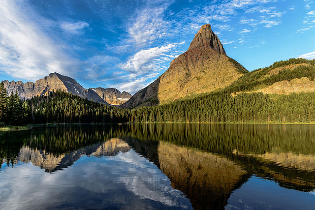 -- Glacier                                       National Park, Montana --
