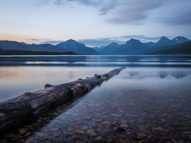 --                         Lake McDonald, Glacier National Park, Montana                         --