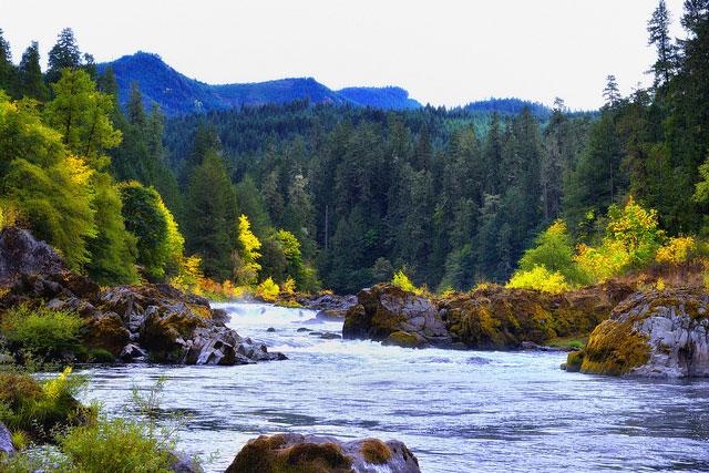 -- Rogue-Umpqua                                         Scenic Byway, Oregon --