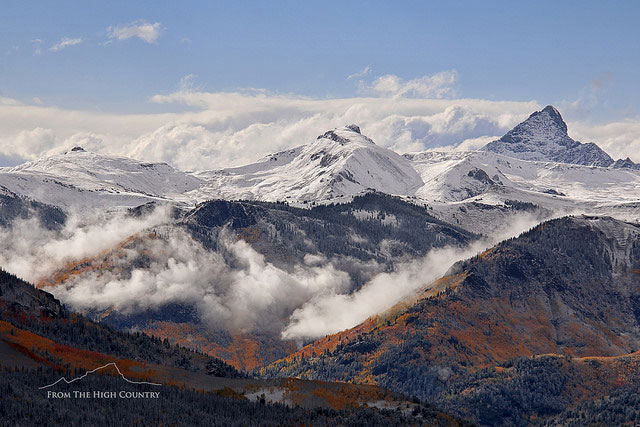 -- Wetterhorn Peak,         San Juan Mountains, Colorado --