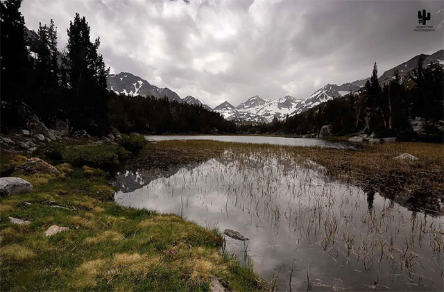 --                             Marsh Lake in the Inyo National Forest,                             Little Lakes Valley Trail, Bishop,                             California --