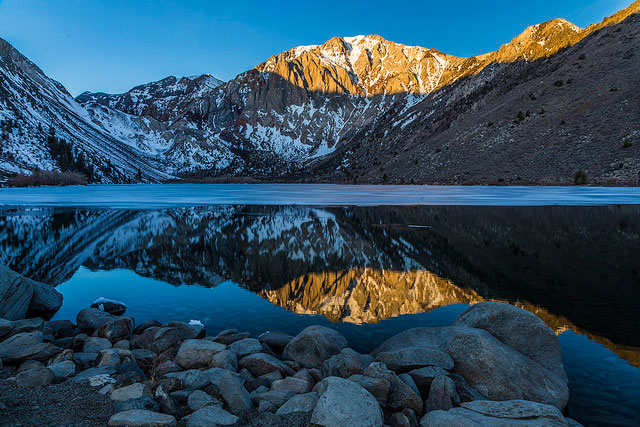 Convict Lake, Mono             County, California