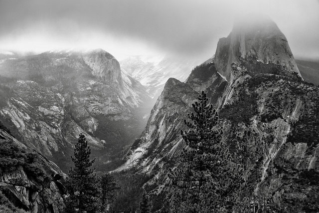 -- Glacier Point, Yosemite National Park, California --