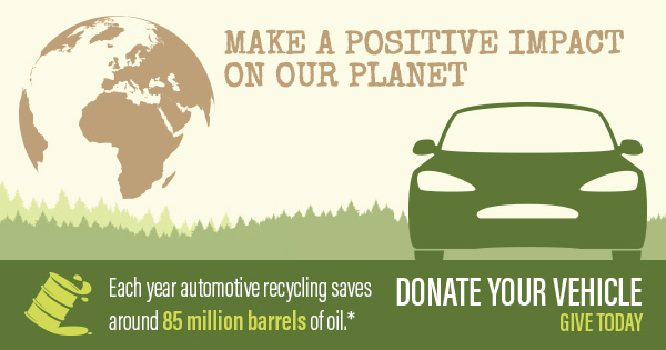 Donate your vehicle to help the Sierra Club Foundation