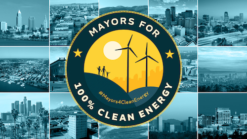 Mayors For 100% Clean Energy image